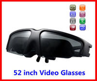 Wholesale 2014 New Virtual Screen inch FPV Portable Wireless Video Glasses IVS VG260 Mobile Theatre with AV in for FPV