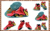 Wholesale Sports Shoes LBXI 11 Basketball Shoes Cheap Mens A...