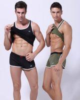 Wholesale Sports vest summer tank tops for sportsman men shirts Boy s gym breathable Male mesh undershirt sex Basketball run sleeveless clothing