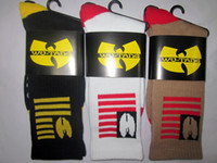 Cheap 24pcs=12pair NEW 3 Colors USA Cotton stripe flag wutang Marijuana leaf weed style Thicken Plantlife Skateboarding Sport Socks 24pcs lot