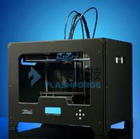 1h flashforge 1280 100% free ship Duplicator 4, MK9, 3d printer, flashforge creator x , impressora 3d printer kit, dial-single, Black metal casing