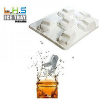 Wholesale retail car style ice cube tray ice maker15 cm