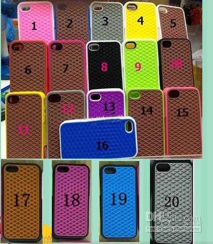 Buy Waffle case iphone 4, Van Sole Shoe Grid Silicone Soft Cover iPhone 4 4S 4G 10