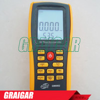 Wholesale Air Flow Anemometer Wind Speed GM8902 range m s