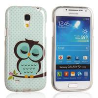 Wholesale 1PC Cute Cartoon Design Owl TPU Rubber Back Case Cover Shell for Samsung Galaxy S4 Mini i9190 i9195