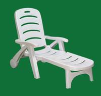 Plastic Garden Chair Outdoor Furniture Quality chaise lounge leisure chair beach chair white plastic chair folding chair new material pp