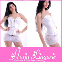 Women Bodysuit Bustiers & Corsets [Merry Chrismas] China Post Free Shipping New Sexy Brocade Pattern Full Steel Boned Corsets LB4010
