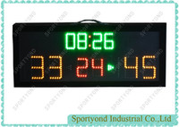 scores for basketball   Electronic led basketball scoreboard with indoor small scoring boards
