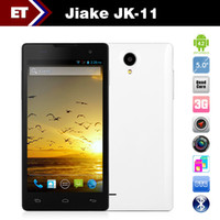 "English Android with Bluetooth JIAKE JK11 MTK6582 Quad Core 1.3GHz 5"" QHD 960x540 Android 4.2 WCDMA GPS Dual SIM 8.0MP Camera"