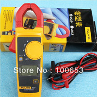 Digital Only Fluke 302 Fluke 302 Digital Clamp Meter AC DC Multimeter Tester with free shipping