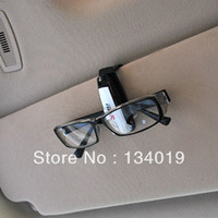 Glasses Case Nylon Front Windshield Shades Portable multi-purpose car glasses clip, multi-purpose paper clip, business card holder, 2PCS
