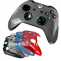 Universal   Crystal Protective Shell Front Case for Microsoft Xbox One Black Low Price In Stock