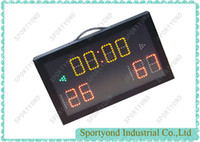 led scores display cards   Indoor Small Mini Portable Electronic LED Scoreboard For Basketball , Football