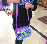 Cross Body PVC Men Frozen Bags Fashion Cartoon Handbags Kids Shoulder Bags Christmas Gift Children Frozen Purse BB205