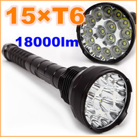 Wholesale New Bulbs UltraFire CREE X XM L T6 LED Lm Waterproof Flashlight Torch Lamp Light Modes m Lighting Distance