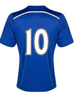 Thai Quality 2014- 15 Home Blue Soccer Jersey #10 Hazard in M...
