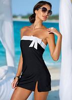 Wholesale Sexy Lingerie Black White Clubbing Dress Beach Sun bath Wear Sea Clubwear Summer Dress Women Beach Dress Plus Size
