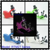 Wholesale Professional Top Rotary Motor Tattoo Liner amp Shader Machine Gun Supply RTM27 Series