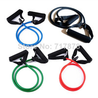 Wholesale 10 Resistance Band Slim Stretch Fitness Muscle Exercise Latex Tube For Workout