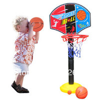 0-12M Multicolor Plastic Baby Inflation Basketball Sport Indoor Outdoor Kids Toys Outdoor Fun & Sports Inflator High Quality Just Make Bring Your Deal