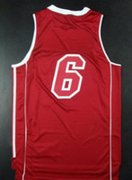 Wholesale to all country Top Quality New Men s Basketball Jerseys Lebron James Embroidered Logo