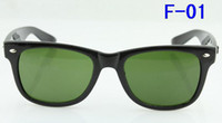 green sand - Free EMS beach sunglasses High Quality Plank Sand Black Sunglasses glass Lens black Sunglasses f