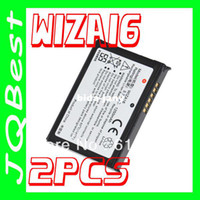 Wholesale WIZA16 Battery For HTC For E Plus Pocket PDA ERA MDA Vario Cover Gene Gene P3400 P3400i P4300 Wave Wizard