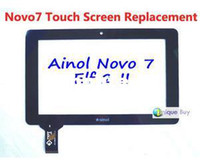 Wholesale Repair Capacitive Touch Screen Replacement for quot inch Ainol Novo7 Elf II Elf Android Tablet PC