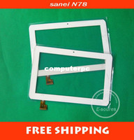 For Apple For Ipad 9.7 Wholesale-5pcs lot 7 inch screen ,100% Brand New Ampe A78 Sanei N78 TABLET Telephone version touch Screen ,touch panel Digitizer