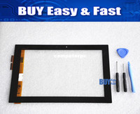 asus front panel - Original new quot Tablet touch panel front touch screen digitizer glass for Asus Eee Pad TF101 black tools