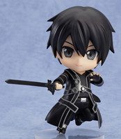 arts movement - Hot toys Japanese anime Sword Art Online Kirito PVC one piece action figures Change movements and expressions Collection Model