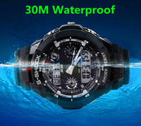 Wholesale Men Brand Multifunction Watch Time Zone Digital Quartz LED Climbing Dive Watch Shockproof Wristwatch