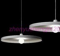 85-265V b lights pendants - Belgium design lighting Toss B light tossB Disc pendant lamp Modern suspension lamp white and black color sizes