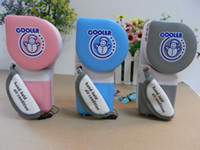 Wholesale Free DHL mini handheld air Conditioner snowman fan USB Degree Rotatable Wet Cooling Fan cooler