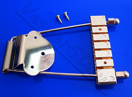 Wholesale Gold New String Trapeze Tailpiece Bridge for Archtop Bass Guitar
