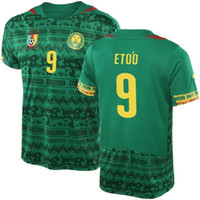 Wholesale Eto o Cameroon World Soccer Jersey Green