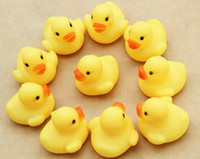 Plastic 0-12 Months Christmas New Arrival!Baby Kids Bath Water Toy Rubber Yellow Ducks Children Swiming Gifts