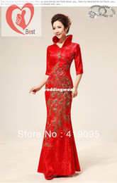 Wholesale Best selling Traditional chinese clothing cheongsam women s formal dress chinese wedding dress cheongsam