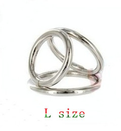 Wholesale Steel Penis Cockrings Male Cockring Penis Cock Ring Delay Sex Toy Adult Health Pleasure Toy