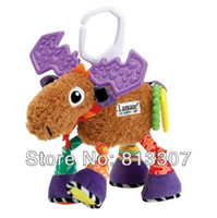 other other other super cute multifunctional Pere David's deer antelope brown lamaze bed hang bell baby toys