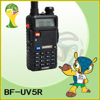 Wholesale Original BAOFENG UV R Dual Band Transceiver Mhz amp Mhz Two Way Radio Walkie Talkiea with mAH Battery BF UV5R