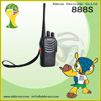 Wholesale Cheap Way Walkie Talkies - Wholesale BaoFeng BF-888S Cheap Walkie Talkie 888s UHF 400-470MHz Interphone Transceiver A0784A Two-Way PMR Radio Handled Intercom