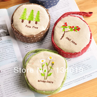 Wallet Yes Zipper Palm garden small round coin purses, wallets, storage bags, key cases
