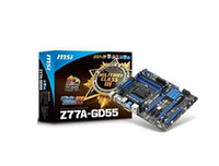 Wholesale computer PC motherboard MSI Z77A GD55 all solid state USB3 LGA1155 GD55