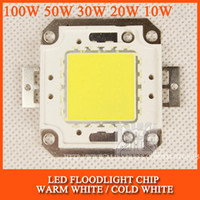 Wholesale LED Floodlight Chip W W W W W High Power LED Chip Bulb IC SMD Cold white warm white