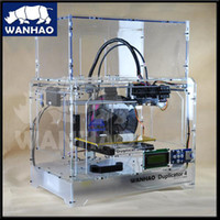 Bluetooth Laser Color Wholesale - wanhao 3d printer new version Duplicator 4X hot sell with 2kg filaments for any color