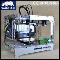 Bluetooth Laser Color Wholesale - Duplicator 4 Promotional Personal 3D Printer MK9 Upgrading with 2 free filaments