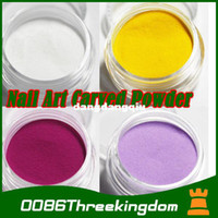 Wholesale colour x D nail art fine acrylic polish glitter Powder decoration g amp retail package MJ0022