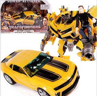 Wholesale Hasbro Transformers Movie Bumblebee level figures driving the league leaders and sam herf Transformers toy