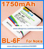 Yes BXT Nokia Wholesale-1750mAh BL-6F BL 6F High Capacity Battery for Nokia N95-8G N78 N79etc Mobile Phone